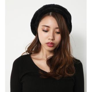 rienda - リエンダ ファーベレー帽