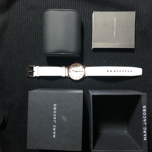 ロジェデュブイ コピー 税関 / MARC JACOBS - 腕時計 MARC JACOBS ホワイトの通販