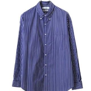 1LDK SELECT - グラフペーパー トーマスメイソン ボタンダウンシャツ