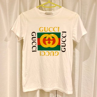 Gucci - GUCCI グッチ ロゴ Tシャツ 12yrs キッズ