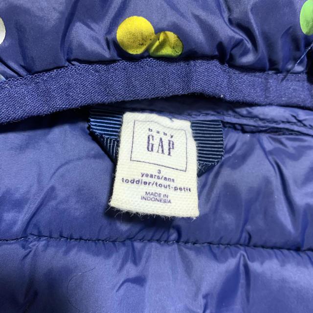 babyGAP(ベビーギャップ)のGAP BABY ダウンジャケット キッズ/ベビー/マタニティのキッズ服女の子用(90cm~)(ジャケット/上着)の商品写真