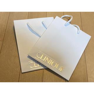 クリニーク(CLINIQUE)のCLINIQUE クリニーク ショッパー コスメ 紙袋(ショップ袋)