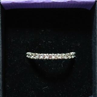 アナスイ(ANNA SUI)のANNA SUI キュービックジルコニアsilverの指輪(13号)巾着付き(リング(指輪))