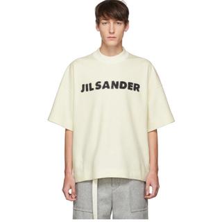 Jil Sander - JIL SANDER ジルサンダー  ウールロゴTEE 2019aw