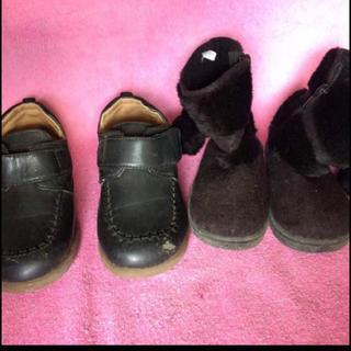 子供用ブーツ 靴 セット かわいい ファーブーツ 女の子 キッズ