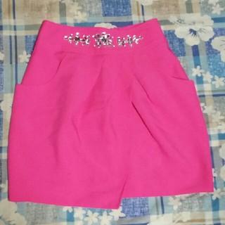 Luxe Rose - リュクスローズ ビジュー付きスカート 汚れあります。