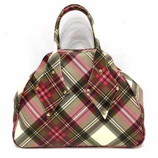 Vivienne Westwood - 新品同様 ヴィヴィアンウエストウッド ダービーチェック 大型 ヤスミン バッグ