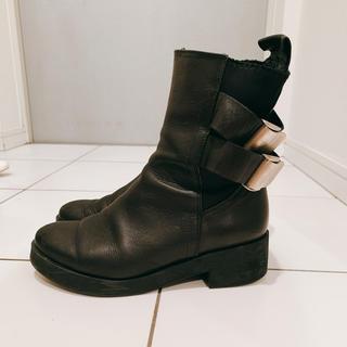 ナイン(NINE)のNINEで購入 インポート物ショートブーツ(ブーツ)
