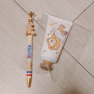 ダッフィー - ダッフィー 三色ボールペン&ハンドクリーム