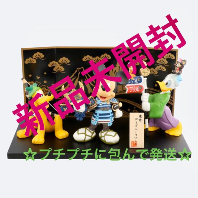 Disney(ディズニー)のディズニー 五月人形 子供の日 エンタメ/ホビーのおもちゃ/ぬいぐるみ(キャラクターグッズ)の商品写真