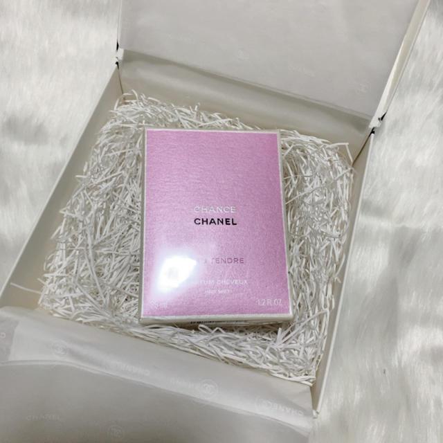 CHANEL(シャネル)の新品未使用!シャネル チャンス オー タンドゥル ヘア ミスト 35ml コスメ/美容のヘアケア/スタイリング(ヘアウォーター/ヘアミスト)の商品写真