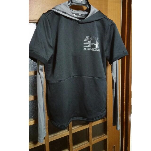 UNDER ARMOUR(アンダーアーマー)のアンダーア-マ- キッズパ-カ- キッズ/ベビー/マタニティのキッズ服男の子用(90cm~)(Tシャツ/カットソー)の商品写真