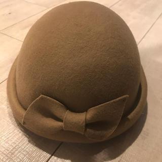 ウールハット ハット ボーラー 帽子 ベージュ ブラウン