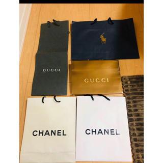 CHANEL - シャネル グッチ GUCCI ラルフローレン 紙袋 ブランド紙袋 ショップ袋