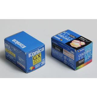 コニカミノルタ(KONICA MINOLTA)の期限切れフィルム コニカGX3200-36  センチュリアスーパー1600 24(暗室関連用品)