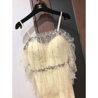 ROBE - robe de fleurs 新作 キャバドレス