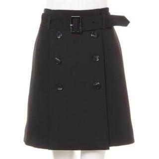 INGNI - INGNI 台形スカート 黒 ブラック