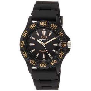 ブラック[シチズン キューアンドキュー]CITIZEN Q&Q 腕時計 ソーラー