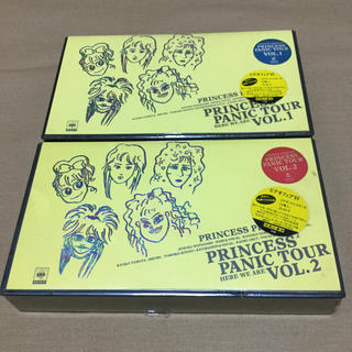 プリンセスプリンセス VHS