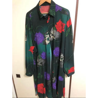 Yohji Yamamoto - BLACK SCANDAL Yohji Yamamotoスカルローズシャツ