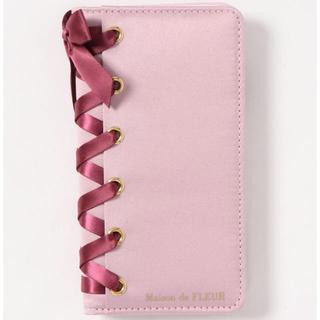 メゾンドフルール(Maison de FLEUR)の【新品】メゾンドフルール iPhone11 ピンク(iPhoneケース)