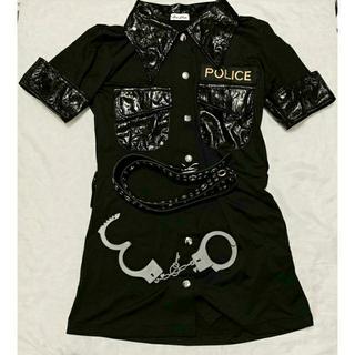 5点セット!ポリス Police コスプレ 手錠 帽子 ベルト 拳銃  ピストル