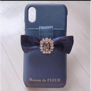 メゾンドフルール(Maison de FLEUR)のメゾンドフルール iPhone Xケース♡完売品(iPhoneケース)