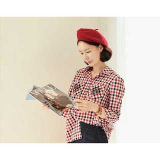 レディース ベレー帽 無地 シンプル 帽子 シンプル キャップ 赤紫 かわいい