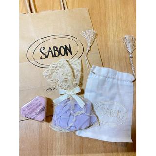 サボン(SABON)のSABON サボン  新品未使用 サシェ ソープフレークス ラベンダー 化粧石鹸(その他)