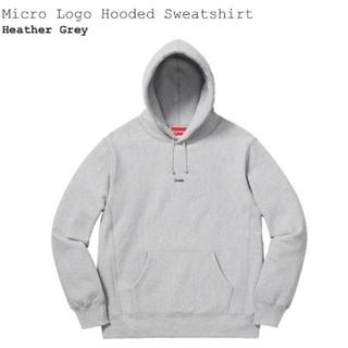 Supreme - Supreme Micro Logo Hooded Sweatshirt L