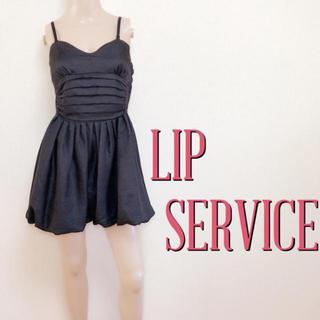 LIP SERVICE - 可愛すぎ♪リップサービス バックリボン お呼ばれワンピース♡リエンダ デュラス