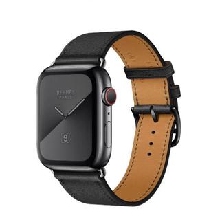 アップルウォッチ(Apple Watch)のアップルウォッチ series5 エルメス 44mm スペースブラック(腕時計(デジタル))