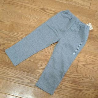 MUJI (無印良品) - 【新品】無印良品 パンツ 100 スウェット キッズ