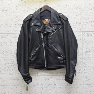 Harley Davidson - ハーレーダビットソン 本革  ダブル ライダース レザージャケット M