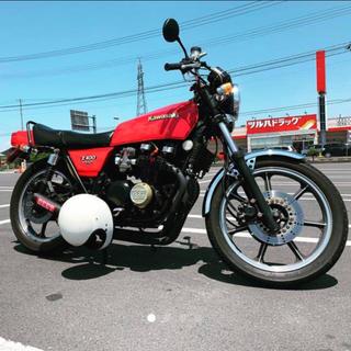 カワサキ - z550fx エンジンOH中
