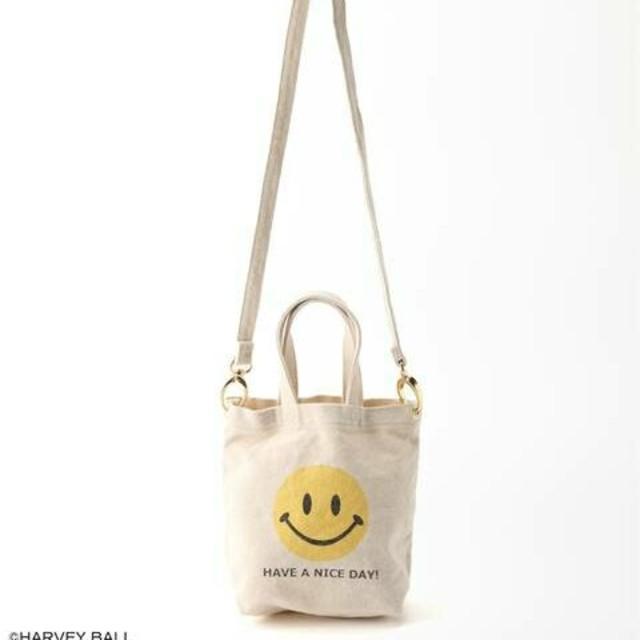 DEUXIEME CLASSE(ドゥーズィエムクラス)のm♡様専用新品タグ付 ドゥーズィエム SMILEY FACE SMILE BAG レディースのバッグ(その他)の商品写真