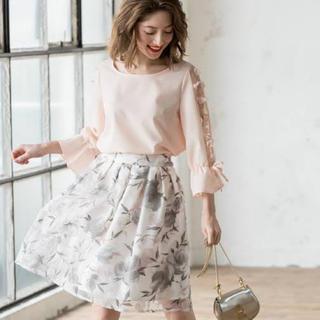 tocco - トッコクローゼット 花柄 チュール スカート