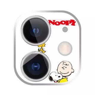スヌーピー(SNOOPY)のスヌーピー  iPhoneケース カメラレンズフィルム 保護フィルム 11対応(保護フィルム)