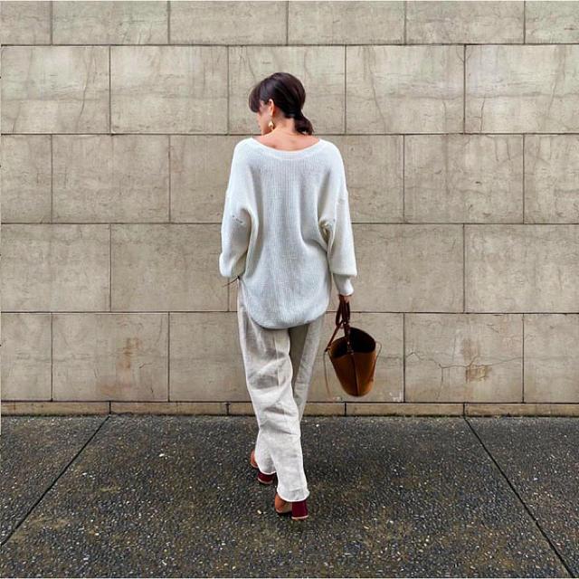 TODAYFUL(トゥデイフル)のetre tokyo エトレ 新作 完売 2WAYサーマルニットソ- カットソー レディースのトップス(カットソー(長袖/七分))の商品写真