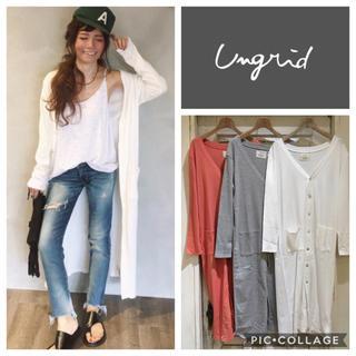 Ungrid - Ungrid**テレコロングカーデ