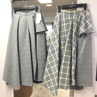 FRAY I.D - フレイアイディー  アシメペプラムスカート 美品