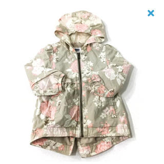Old Navy - OLDNAVY☆used☆100☆花柄春秋コート