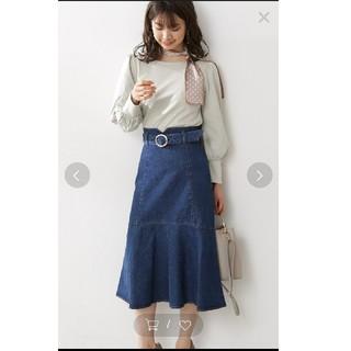 プロポーションボディドレッシング(PROPORTION BODY DRESSING)のプロポーションボディドレッシング  マーメイドミモレデニムスカート 3 (ロングスカート)
