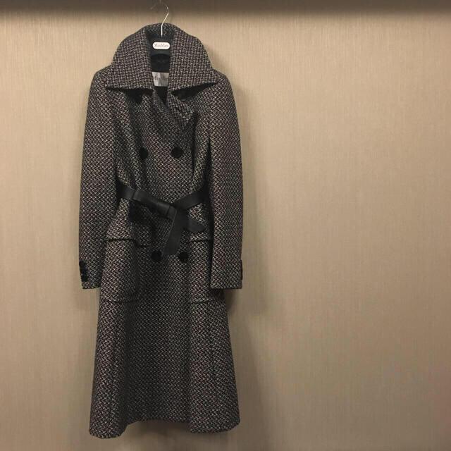 Max Mara(マックスマーラ)の【売り切り特価!】*+MAXMARA+* ロングコート レディースのジャケット/アウター(ロングコート)の商品写真