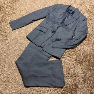クードシャンス(COUP DE CHANCE)の値下げ交渉OK クードシャンス シングル パンツスーツ Mサイズ グレー(スーツ)