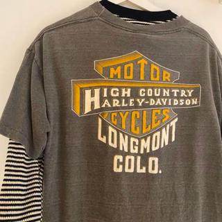 ハーレー ヴィンテージ  Tシャツ(Tシャツ(半袖/袖なし))