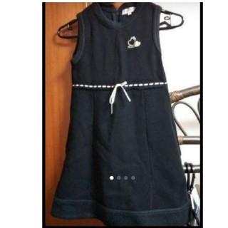 エニィファム(anyFAM)のanyFAM  130cm  黒 (スカート)