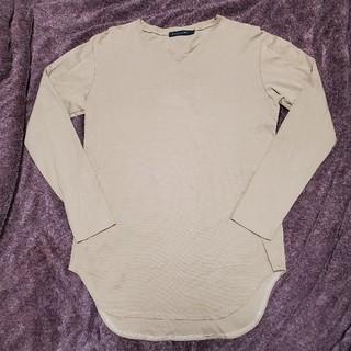 フーガ(FUGA)のゴスタールジフーガ fuga ロンT カットソー ラウンド ボーダー サイズ44(Tシャツ/カットソー(七分/長袖))