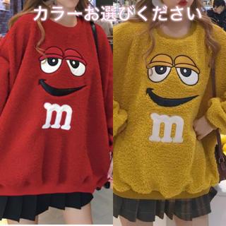 ◤フォロ割対象商品◢ピープス女子 M&M's WEGO◎(トレーナー/スウェット)