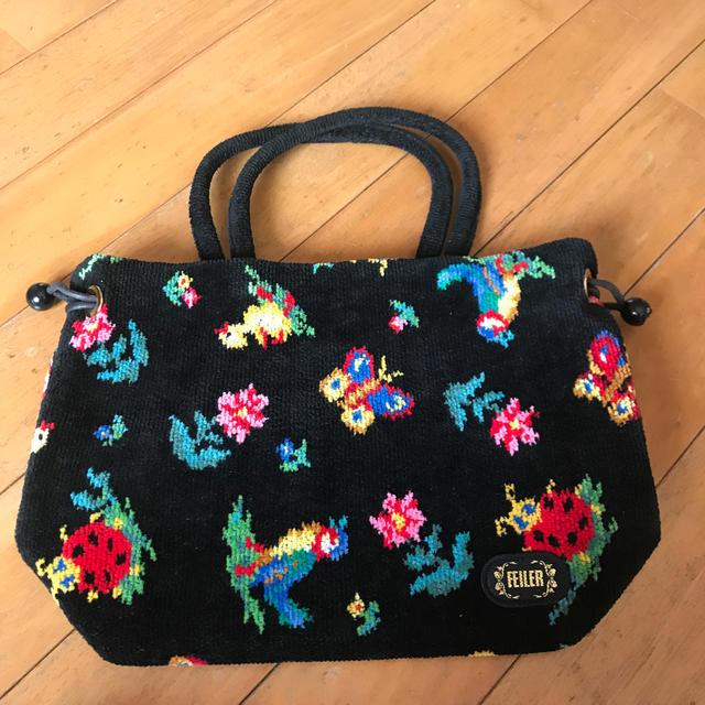 FEILER(フェイラー)のフェイラー ハイジ巾着バッグ レディースのバッグ(ハンドバッグ)の商品写真